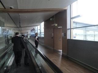 ノルウェーの空港は木材を多用していました。